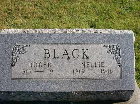 BLACK, ROGER - Champaign County, Ohio | ROGER BLACK - Ohio Gravestone Photos