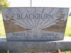 BLACKBURN, GEORGE A. - Champaign County, Ohio | GEORGE A. BLACKBURN - Ohio Gravestone Photos