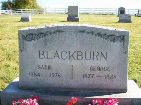 BLACKBURN, SADIE - Champaign County, Ohio | SADIE BLACKBURN - Ohio Gravestone Photos