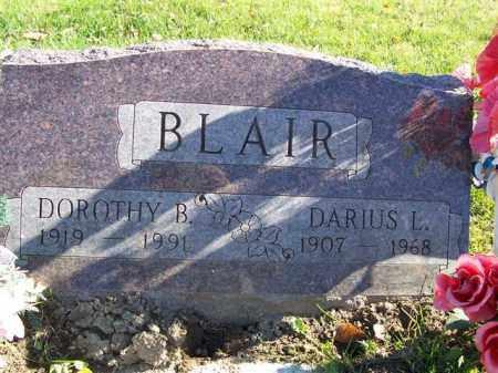 BLAIR, DARIUS L - Champaign County, Ohio | DARIUS L BLAIR - Ohio Gravestone Photos