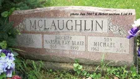 MCLAUGHLIN BLAIR, MARSHA KAY - Champaign County, Ohio | MARSHA KAY MCLAUGHLIN BLAIR - Ohio Gravestone Photos