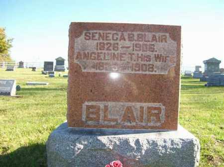 BLAIR, ANGELINE T. - Champaign County, Ohio | ANGELINE T. BLAIR - Ohio Gravestone Photos