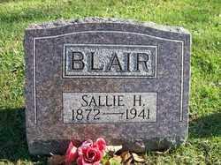 BLAIR, SALLIE H. - Champaign County, Ohio | SALLIE H. BLAIR - Ohio Gravestone Photos