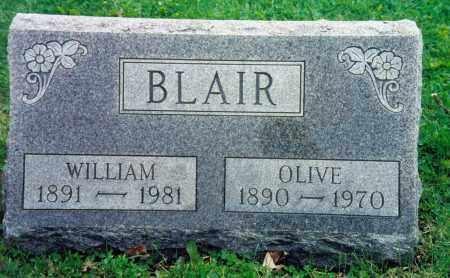 BLAIR, OLIVE BEATRICE - Champaign County, Ohio | OLIVE BEATRICE BLAIR - Ohio Gravestone Photos
