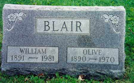 BLAIR, WILLIAM HIGBEE - Champaign County, Ohio | WILLIAM HIGBEE BLAIR - Ohio Gravestone Photos