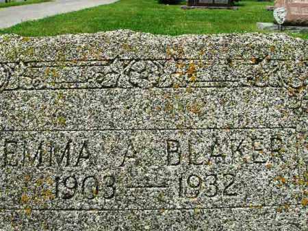 BLAKER, EMMA - Champaign County, Ohio   EMMA BLAKER - Ohio Gravestone Photos