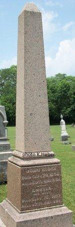 PENCE BLOSE, AMELIA ANN - Champaign County, Ohio | AMELIA ANN PENCE BLOSE - Ohio Gravestone Photos