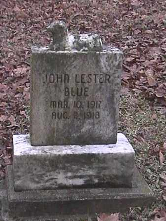 BLUE, JOHN LESTER - Champaign County, Ohio   JOHN LESTER BLUE - Ohio Gravestone Photos