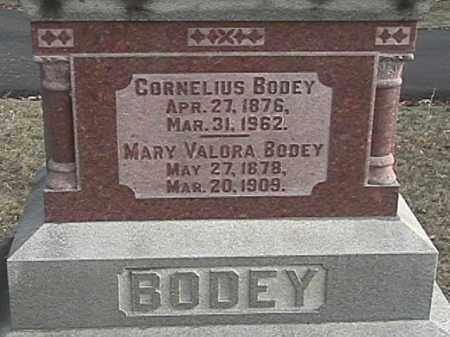 ZIMMERMAN BODEY, MARY VALORA - Champaign County, Ohio | MARY VALORA ZIMMERMAN BODEY - Ohio Gravestone Photos