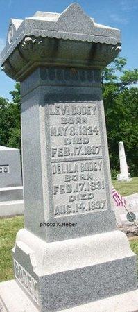 BODEY, DELILA - Champaign County, Ohio | DELILA BODEY - Ohio Gravestone Photos
