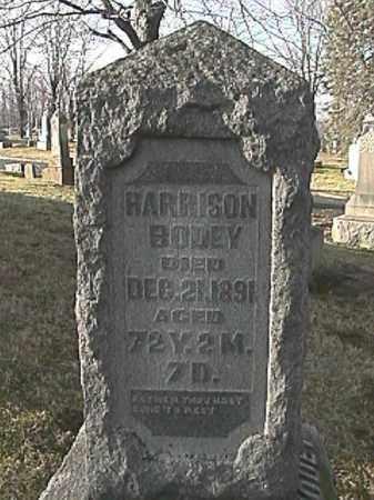 BODEY, HARRISON - Champaign County, Ohio | HARRISON BODEY - Ohio Gravestone Photos