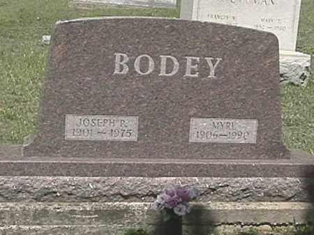 BODEY, JOSEPH P. - Champaign County, Ohio | JOSEPH P. BODEY - Ohio Gravestone Photos
