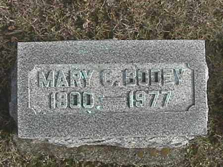 BODEY, MARY C. - Champaign County, Ohio | MARY C. BODEY - Ohio Gravestone Photos