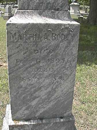 BRADLEY BODEY, MARTHA A - Champaign County, Ohio | MARTHA A BRADLEY BODEY - Ohio Gravestone Photos