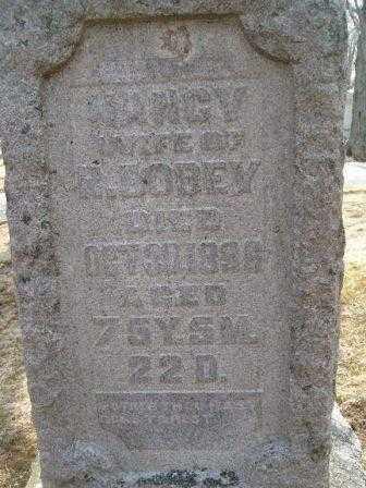 BODEY, NANCY - Champaign County, Ohio   NANCY BODEY - Ohio Gravestone Photos
