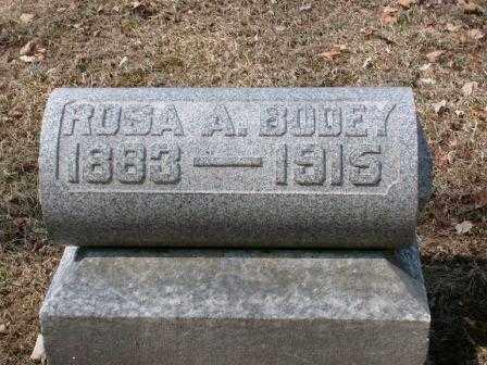 BODEY, ROSA ANN - Champaign County, Ohio   ROSA ANN BODEY - Ohio Gravestone Photos