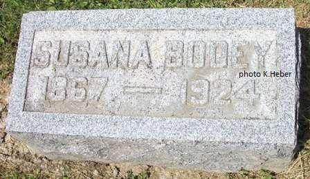 BODEY, SUSANA - Champaign County, Ohio | SUSANA BODEY - Ohio Gravestone Photos