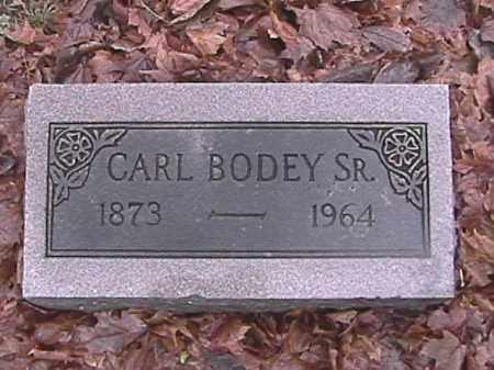 BODEY, SR., CARLTON VINCENT - Champaign County, Ohio | CARLTON VINCENT BODEY, SR. - Ohio Gravestone Photos