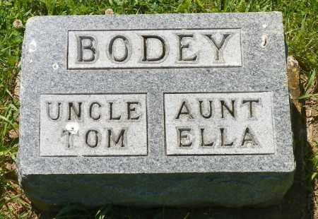 BODEY, TOM - Champaign County, Ohio | TOM BODEY - Ohio Gravestone Photos