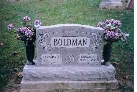 BOLDMAN, BARBARA J. - Champaign County, Ohio | BARBARA J. BOLDMAN - Ohio Gravestone Photos