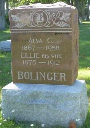 """BOLLINGER, LARELLA MAY """"LILLIE"""" - Champaign County, Ohio 