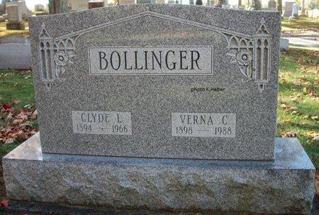 BOLLINGER, VERNA CECIL - Champaign County, Ohio | VERNA CECIL BOLLINGER - Ohio Gravestone Photos