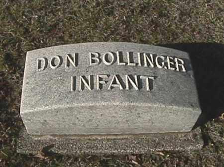 BOLLINGER, DON - Champaign County, Ohio   DON BOLLINGER - Ohio Gravestone Photos