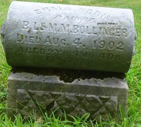 BOLLINGER, EMMA FERN - Champaign County, Ohio | EMMA FERN BOLLINGER - Ohio Gravestone Photos