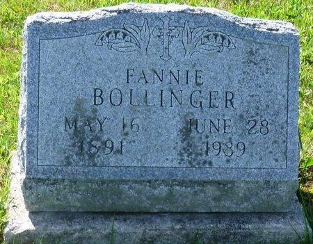 BOLLINGER, FANNIE M - Champaign County, Ohio   FANNIE M BOLLINGER - Ohio Gravestone Photos