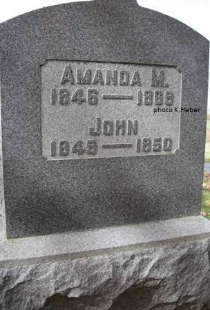 BOLLINGER, AMANDA - Champaign County, Ohio   AMANDA BOLLINGER - Ohio Gravestone Photos