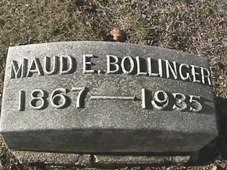 BOLLINGER, MAUD EDNA - Champaign County, Ohio | MAUD EDNA BOLLINGER - Ohio Gravestone Photos