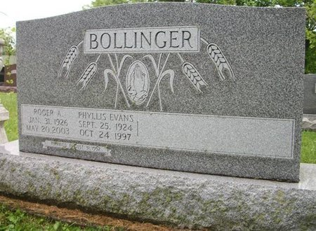 BOLLINGER, PHYLLIS ANN - Champaign County, Ohio | PHYLLIS ANN BOLLINGER - Ohio Gravestone Photos
