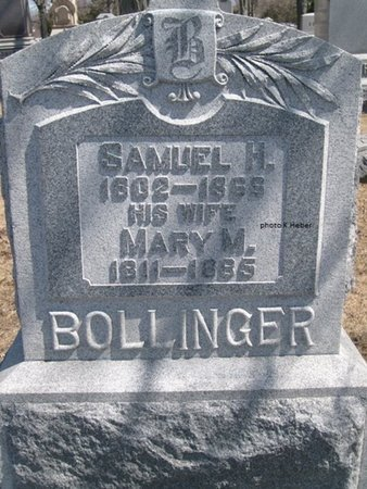 BOLLINGER, MARY MAGDALENA - Champaign County, Ohio | MARY MAGDALENA BOLLINGER - Ohio Gravestone Photos