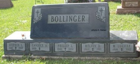 BOLLINGER, MARY LUCILLE - Champaign County, Ohio | MARY LUCILLE BOLLINGER - Ohio Gravestone Photos