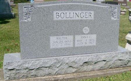 BOLLINGER, ANNA LEONA - Champaign County, Ohio | ANNA LEONA BOLLINGER - Ohio Gravestone Photos