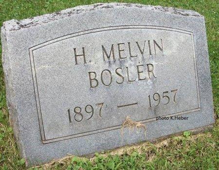 BOSLER, HENRY MELVIN - Champaign County, Ohio | HENRY MELVIN BOSLER - Ohio Gravestone Photos