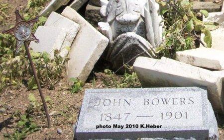 BOWERS, JOHN - Champaign County, Ohio   JOHN BOWERS - Ohio Gravestone Photos