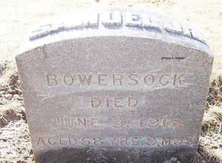 BOWERSOCK, JR, SAMUEL D - Champaign County, Ohio | SAMUEL D BOWERSOCK, JR - Ohio Gravestone Photos