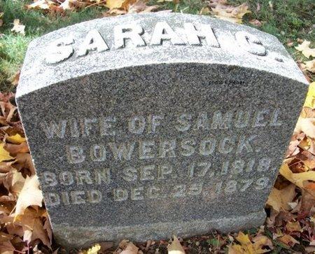 "BOWERSOCK, SARAH C ""SALLIE"" - Champaign County, Ohio | SARAH C ""SALLIE"" BOWERSOCK - Ohio Gravestone Photos"