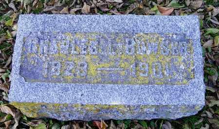 BOWSER, CHARLES L. - Champaign County, Ohio | CHARLES L. BOWSER - Ohio Gravestone Photos