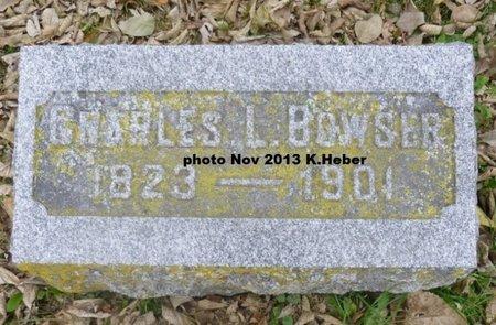 BOWSER, CHARLES L - Champaign County, Ohio   CHARLES L BOWSER - Ohio Gravestone Photos