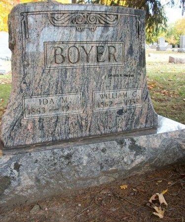 BOYER, WILLIAM GERSHOM - Champaign County, Ohio | WILLIAM GERSHOM BOYER - Ohio Gravestone Photos
