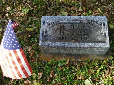 BRADEN, LEE - Champaign County, Ohio | LEE BRADEN - Ohio Gravestone Photos
