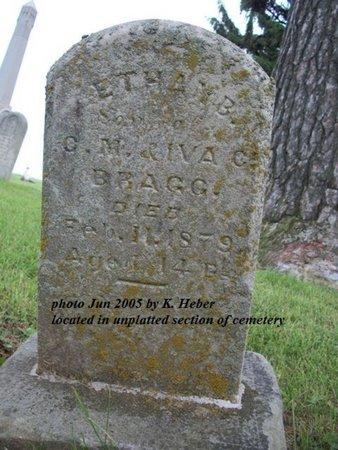 BRAGG, ETHAN B - Champaign County, Ohio | ETHAN B BRAGG - Ohio Gravestone Photos