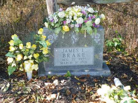 BRAKE, JAMES L. - Champaign County, Ohio | JAMES L. BRAKE - Ohio Gravestone Photos
