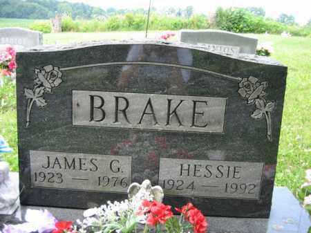 BRAKE, JAMES G. - Champaign County, Ohio | JAMES G. BRAKE - Ohio Gravestone Photos
