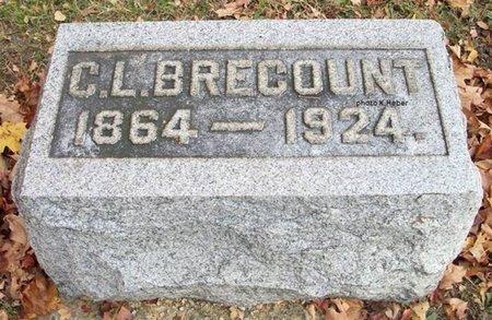 BRECOUNT, CHARLES L - Champaign County, Ohio | CHARLES L BRECOUNT - Ohio Gravestone Photos