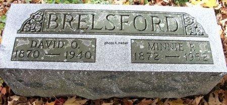 BRELSFORD, MINNIE PEARL - Champaign County, Ohio | MINNIE PEARL BRELSFORD - Ohio Gravestone Photos