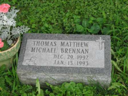 BRENNAN, THOMAS MATTHEW MICHAEL - Champaign County, Ohio | THOMAS MATTHEW MICHAEL BRENNAN - Ohio Gravestone Photos