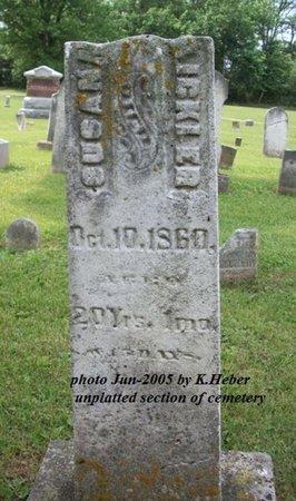 BRICKER, SUSANNAH - Champaign County, Ohio   SUSANNAH BRICKER - Ohio Gravestone Photos